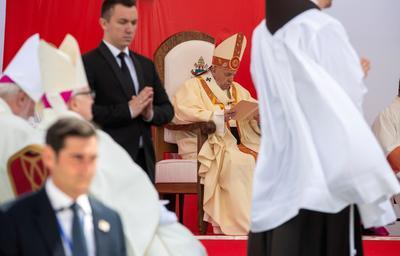 Histórica visita del Papa Francisco a Macedonia del Norte