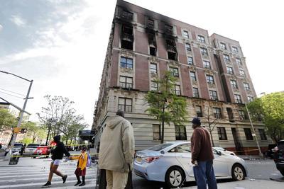 Se registró en un apartamento del barrio neoyorquino de Harlem.