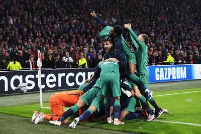 Con milagrosa remontada, Tottenham está en la final de la Champions