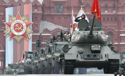 Rusia mostró su gran poderío militar.
