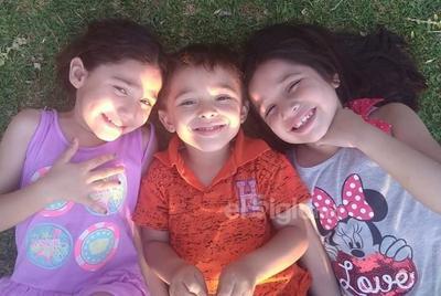Thaly, Fernando y Andrea.