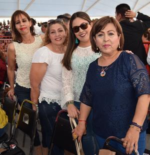 09052019 María Concepción, Ilsse, Manuela y Gisela.