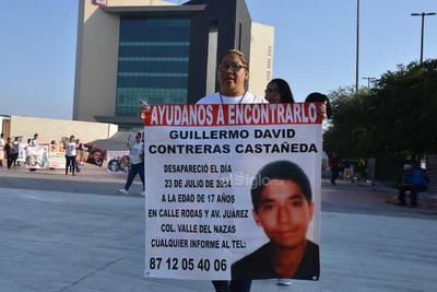 Llegaron a la Plaza Mayor de Torreón.