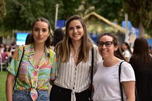 Valeria, Brenda y Katerine