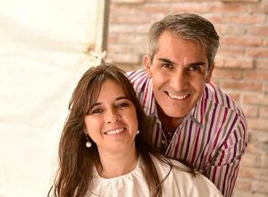 Connie Lozano y Juan Antonio Ramírez