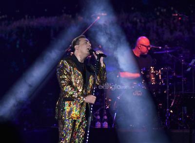 Cristian Castro regresó a la región para ofrecer el segundo concierto de su gira Mi tributo a Juan Gabriel.