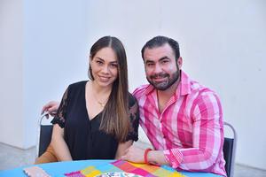 Paty Ortega y Pepe Bazán
