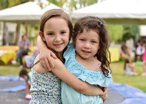 Eugenia y Luciana