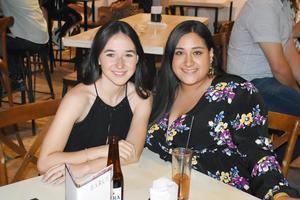 Cristina y Mary Carmen