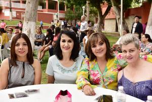 Clara, Bedia, Lety y Adriana