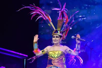 La creadora del estilo de performance música heavy nopal o neo ranchero, presentó su espectáculo Tierra misteriosa.