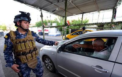 Ramadán con extremas medidas de seguridad en Bagdad