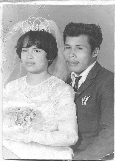 Ma. Rosario Zapata e Ignacio Pérez Lira. 1968.