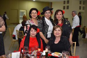 13052019 Lety, Paty, Pily, Martita y Ángeles.