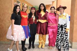 13052019 SORPRENDEN A LOS NIñOS.  Vania, Erika, Jaky, Mayra, Paty y Daniela.