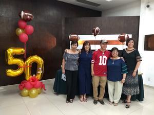 12052019 FESTEJO DE CUMPLEAñOS . Gloria, Lorena Miguel, Lupita y Elsa.