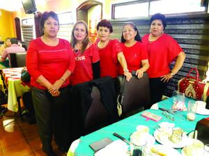 12052019 REUNIóN MENSUAL DE MAESTRAS JUBILADAS.  Norma, Lili, Chela, Rosy y Lupita.