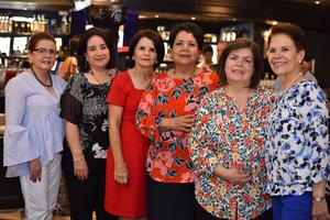 13052019 RECIENTE CELEBRACIóN.  Lety, Yola, María Teresa, Titi, Caro y Dora.