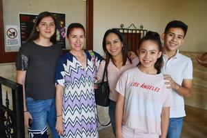 13052019 Barby, Norma, Adriana, Romina y César.