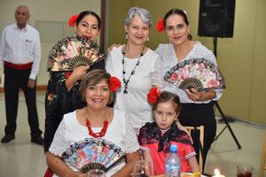 13052019 Gloria, Adriana, Sandra, Amparo y Paola.