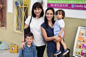 13052019 Lupita, Mariana, Mauri y Diego.