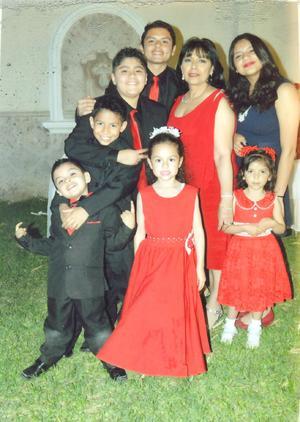 12052019 DOBLE CELEBRACIóN.  Asía y Andre cumplieron 3 y 6 años, respectivamente, los acompañan sus padres, Elena Rangel y Andre Joseph.
