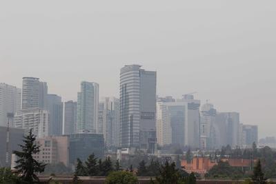 Con 15 incendios activos, la calidad del aire ha empeorado en el centro del país.