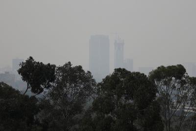 Valle de México, con aire 'irrespirable'; sorprendentes imágenes de la contaminación