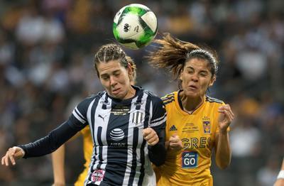 Monterrey trató de reaccionar, luchó por hacer daño en la cabaña defendida por Ofelia Solís, pero las contrincantes estuvieron bien paradas en el terreno de juego.