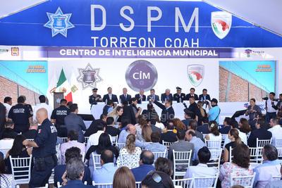 Inauguran Centro de Inteligencia Municipal en Torreón