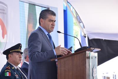 El gobernador Miguel Ángel Riquelme, dijo que la seguridad pública es un tema que no tiene colores y que la coordinación es fundamental.