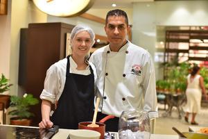 15052019 Regina y Luis, chefs invitados.