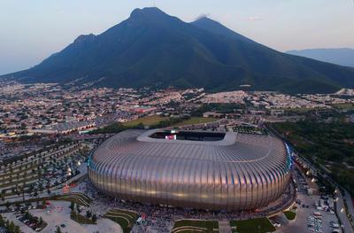 IMG_0714  MONTERREY, MEXICO - MAYO 15: Vista aerea del estadio previo a el juego de ida de la semifinal del torneo Clausura 2019 de la Liga Bancomer MX en el estadio Bancomer BBVA el 15 de Mayo de 2019 en Monterrey, Mexico (Foto: Alfredo Lopez/JAM MEDIA)