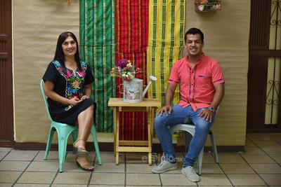 Yolanda y Carlos Francisco.