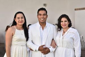 16052019 Daisy Robles, Aldo Ramos y Carla Medina.