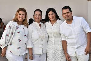 16052019 Sandra López, Diana Galaviz, Rebeca Rivera y Ernesto González.