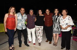 16052019 Ivonne, Pako, Macario, Rosy, Fernando, Nidia y Tere.
