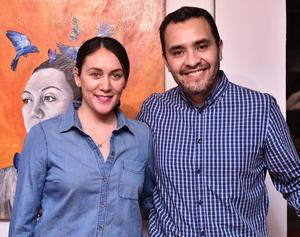 16052019 Emma Duran y Juan Carlos Mendoza.