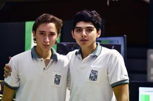 17052019 EVENTO ESCOLAR.  Pablo Oviedo y Tony Pérez.