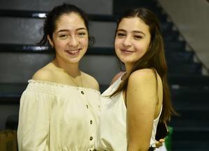 17052019 AMIGAS.  Natalia Alcantar y Andrea Saláis.