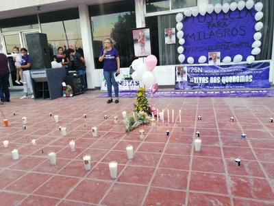 'No es posible que haya impunidad, y no exista justicia para las víctima', detalló Valeria López.
