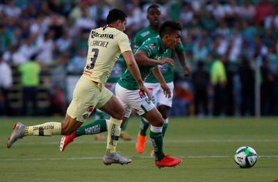 Bruno Valdez marcó en el arranque del partido de ayer y América venció 1-0 a León, que sin embargo se valió de su mejor posición en la tabla para avanzar a la final del Clausura 2019, donde medirá fuerzas con Tigres en una final inédita.