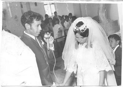 Tomás y Lico en San Pedro, Coahuila, en 1964.