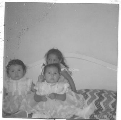 Liliana Soto, Gabriela Elizabeth y Susana S. Sánchez en 1984.
