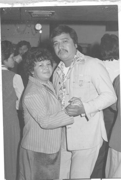 María del Socorro Puentes Castro y Feliciano Soto Reyes en la década de los 80'.
