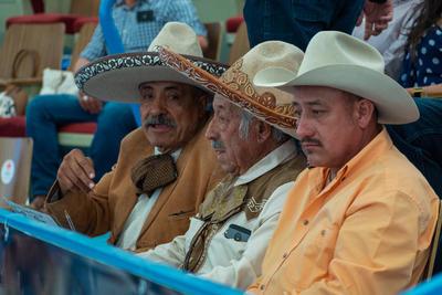 La voz de los charros de Durango, Cristóbal Hernández fue reconocido.