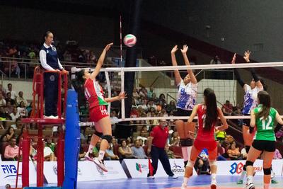Cuba no tuvo problemas para vencer, en tres periodos, a Perú, en donde los parciales fueron de 23-25, 12-25 y 23-25.