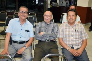22052019 PRESENTACIóN DE LIBRO.  Jesús, Octavio y Humberto.