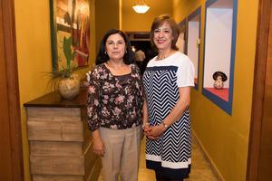 23052019 CONTENTAS.  Guadalupe García e Isolda de Jiménez.