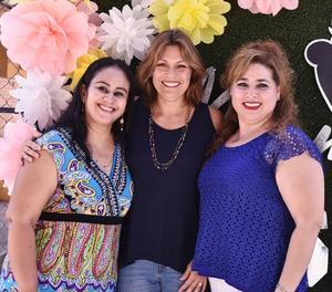 23052019 Susy Álvarez, Miriam Sabag y Claudia Camargo.